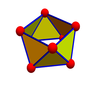 A two dimensional orientable graph with the topology of the cylinder