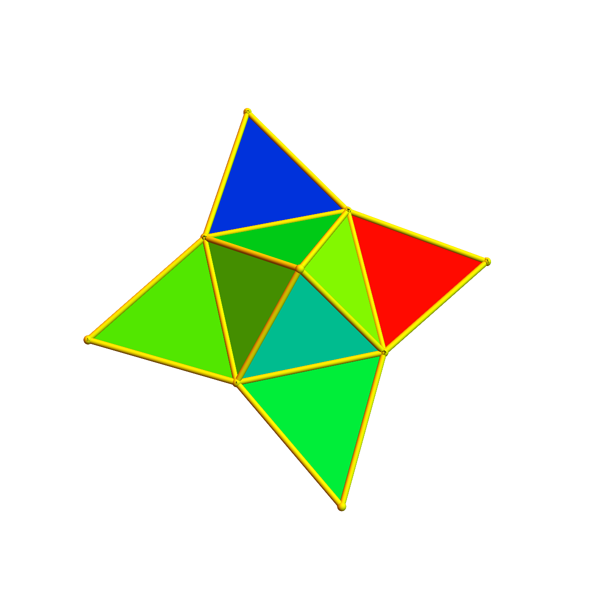 Stellated square